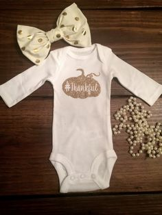 In case she is only 2 days late! Thanksgiving shirt thankful newborn thanksgiving baby girl thanksgiving grateful toddler thanksgiving thanksgiving outfit thanksgiving shirt by Shop419 on Etsy
