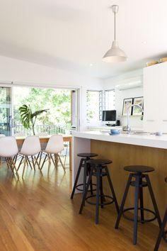 light-filled Australian home. the Beetle Shack blog.