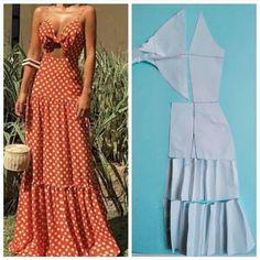 Fashion Sewing, Diy Fashion, Ideias Fashion, Diy Clothing, Sewing Clothes, Redo Clothes, Dress Sewing Patterns, Clothing Patterns, Costura Fashion