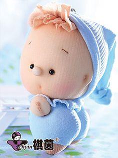 Little Boy Blue  Candy Babies Stuffed Toy Kit by ClassyThreadsKits, $12.00