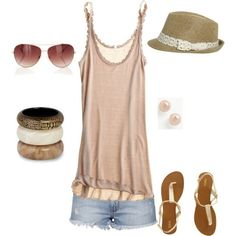 Outfits From Polyvore | Summer outfit! by trez03trois