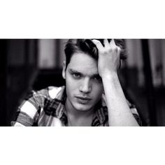 Dominic Sherwood Cast as Jace in ABC Family's 'Shadowhunters' ❤ liked on Polyvore featuring shadowhunters