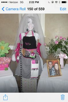 ironing board bride