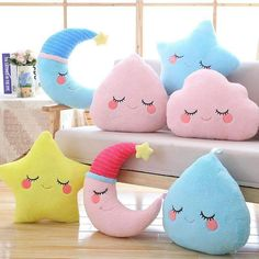 47 Ideas Sewing Pillows For Kids Couch Cute Pillows, Baby Pillows, Kids Pillows, Plush Pillow, Cushion Pillow, Throw Pillows, Sewing Projects For Kids, Sewing For Kids, Diy Projects