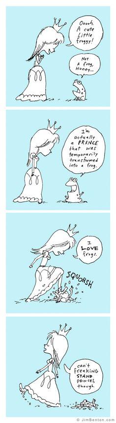 Jim Benton Cartoons: Fractured Fairy Tales