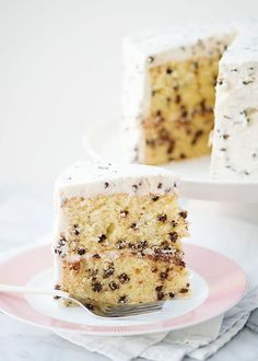 chocolate chip layer cake recipe via baked bree