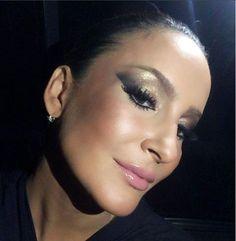 Claudia Leitte Carnaval Make Up Maquiagem Esfumado Diagonal Smokey