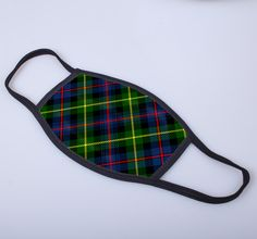 non medical face covering with printed tartan - exclusive to ScotClans