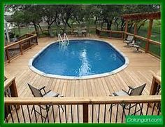 Above Ground Pools With Decks Pictures Design Idea