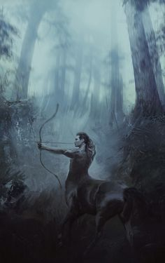 ArtStation - centaur's forest, Marcel G