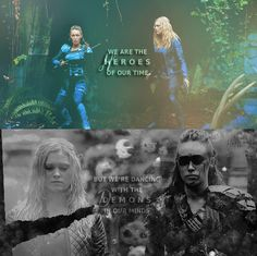 clark and lexa 100 | Clarke and Lexa - The 100 (TV Show) Fan Art (39042184) - Fanpop