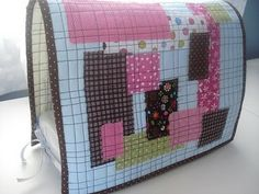 Audrie's Scrappy Patchwork Sewing Machine Cover Tutorial
