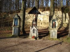 Drie beeldjes Valkenburg