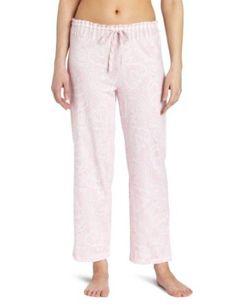 Nautica Sleepwear Women's Paisley Knit Ankle Pant, Orchid Pink, Small Nautica. $28.50