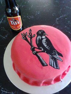 Tui Beer Birthday Cake,, Men's Birthday Cake: