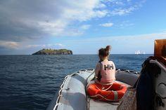 Dal gommone di assistenza durante le prove pratica in mare. #LNV2015 #vela #corsi