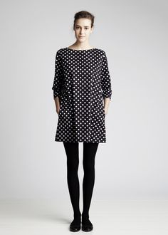 To know more about marimekko ワンピース, visit Sumally, a social network that gathers together all the wanted things in the world! Featuring over other marimekko items too! Mode Outfits, Fashion Outfits, Womens Fashion, Marimekko Dress, Mode Lookbook, Fashion Catalogue, Dress Skirt, Dot Dress, Beautiful Outfits