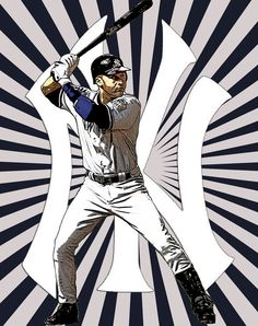 The one and only Derek Jeter! El Capitan!