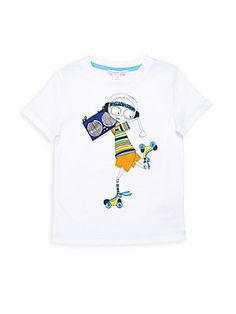 Little Marc Jacobs Toddler's, Little Boy's & Boy's Graphic Crewneck Tee