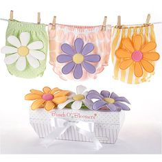 Bunch OBloomers Three Bloomers for Blooming Bums from PoshTots