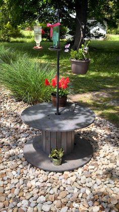 My new hummingbird garden