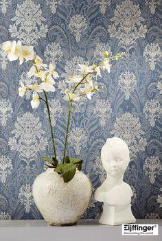 『Import Wallpaper 輸入壁紙 TECIDO DAMASK Eijffinger 357034』 http://item.rakuten.co.jp/interior-cozy/357033_357036/ #wallpaper #interior #diy