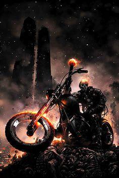 Ghost Riderby Clayton Crain