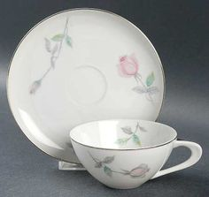 """Etude"" china pattern with pink roses from Sango."