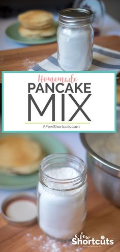 Ditch those boxed mixes! It is time to make your own with this Homemade Pancake Mix recipe! Great for waffles, pancakes, and more!