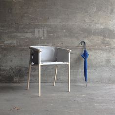 Cargo Chair by Benjamin Hubert in collaboration with De La Espada. ( Matter NYC picture)