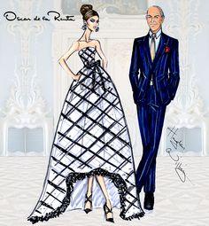 """""""My role as a designer is to make a woman feel her very best"""" - Oscar de la Renta. 1932 - 2014"""
