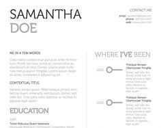 uno urban resume template by quedge design
