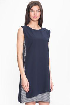 Женского трикотажное платье из вискозы и искусственного шелка PAQUITO фото