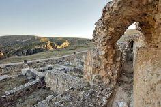 Ruinas romanas de Valeria. #DescubreCuenca a través de la Historia/Roman ruins of Valeria. You can discover Cuenca through the history.