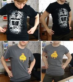Learn to Sew & Re-size T-Shirts!