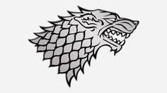 House Stark (Game Of Thrones) Symbol Image Trace