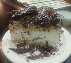 This board would be incomplete without a photo of my favorite dessert ever -- Swiss Pastry House's Black Forest Cake! Want to eat it NOW! Swiss Desserts, Kopy Kat Recipe, Sweetened Whipped Cream, Black Forest Cake, Chocolate Shavings, French Vanilla, Food For Thought, Gluten Free Recipes, Delish
