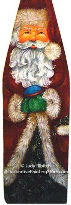 Old World Santa Ironing Board ePattern - Judy Ribitch - PDF DOWNLOAD