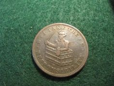 RARE 1833 I TAKE THE RESPONSIBILITY HARD TIMES TOKEN LOW GRADE