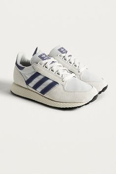 quality design aa818 0f9e7 Slide View 1 adidas Originals Forest Grove Crystal White Trainers Forest  Grove, Adidas