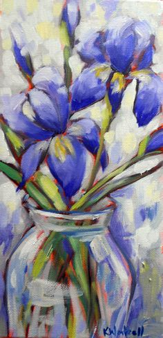 notes from the studio of artist Kristina Wentzell: COMMUNITY SUPPORTED ART: IRIS