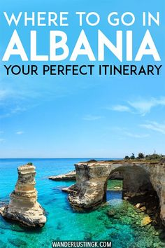 Planning your trip to Albania? Read about the best places to visit in Albania that you must include in your Albania itinerary with practical tips for travel in Albania. Includes Valbona, Theth, Tirana, Berat, Gjirokastër, and Sarande. #travel #Albania #Balkans #Europe #UNESCO #shqiperia