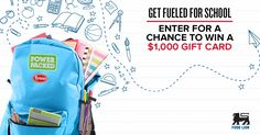 Enter for a chance to win a $1,000 Gift Card! http://woobox.com/fv6wcd/ho1hkb #backtoschool