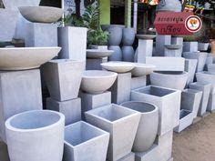 Concrete Pots, Concrete Projects, Concrete Planters, Cement Crafts, Outdoor Walls, Outdoor Furniture Sets, Outdoor Decor, Metal Walls, Metal Wall Art