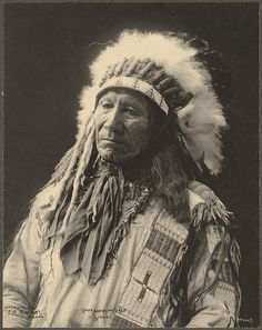 Chief American Horse, Sioux. F. A. Rinehart, 1898.. My Great Grandfather..