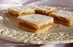 Slovak Recipes, Czech Recipes, Sweet Recipes, Healthy Recipes, Healthy Food, No Cook Desserts, Apple Pie, Sweet Treats, Cheesecake