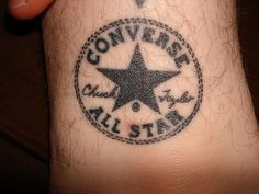Converse All Star Tattoo