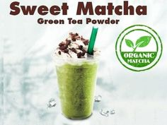 Green Powder Frappe and Matchaccino