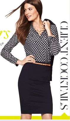 Ann Taylor - The Secret To Workweek Chic...