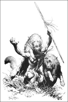 Frazetta - Canaveral plate